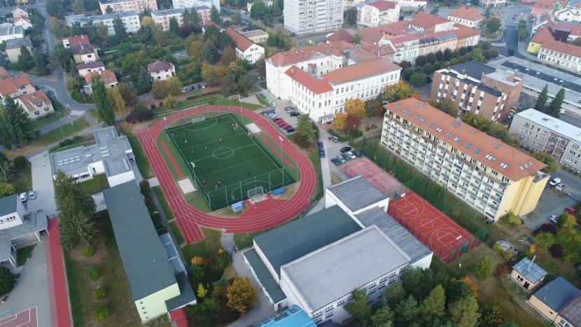 V Dobříši otevřeli zrekonstruovaný sportovní areál