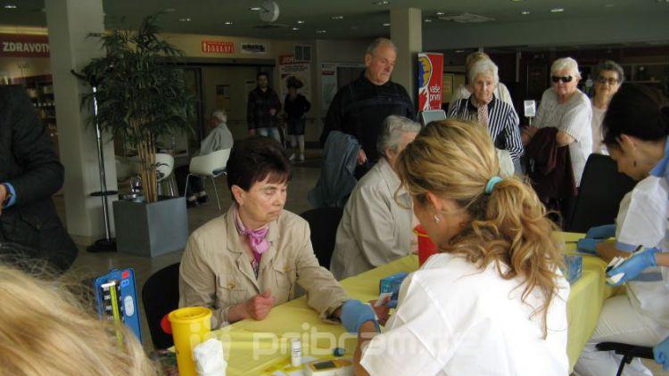 Den boje proti CMP a den hypertenze se v příbramské nemocnici připomněly společně