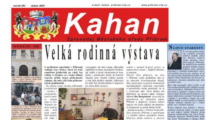 V Kahanu se opět objeví inzerce