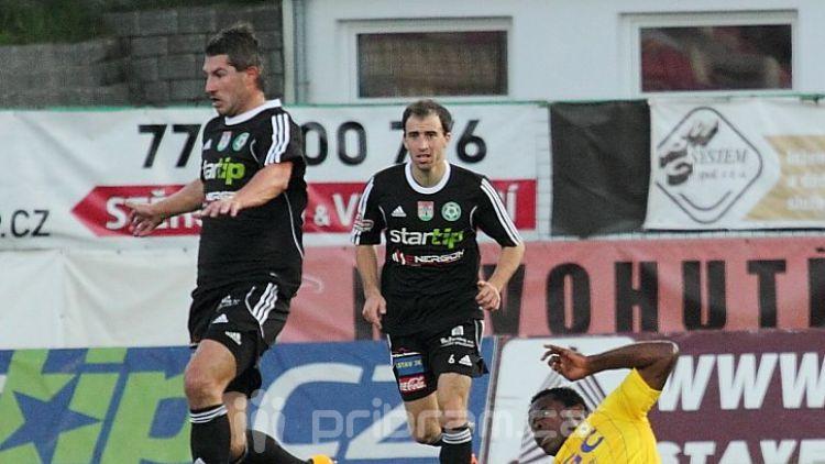 """Fotbalisté remizovali v """"přáteláku"""" 1:1 s Mladou Boleslaví"""