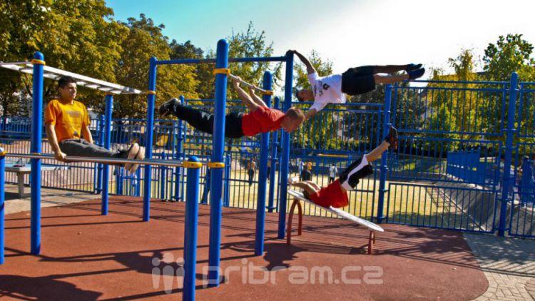 Workoutový park a revitalizace dvorů může stát až 9 milionů