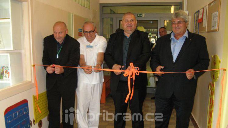 V nemocnici otevřeli nové lůžkové oddělení pro děti