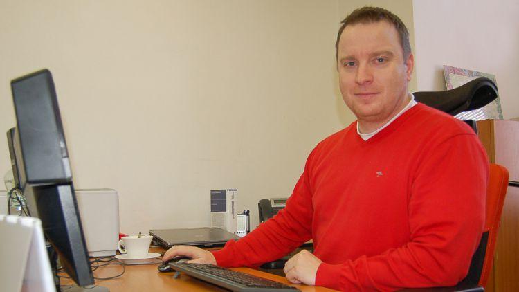 Dušan Strakula funguje v novém centru jako manažer kvality