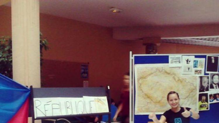 Studentky příbramského gymnázia prožily rok v Dijonu