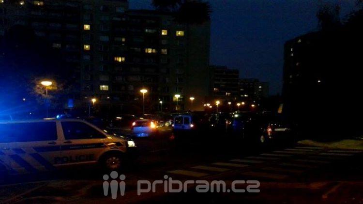 V Čechovské se srazily dva vozy, nikdo se nezranil