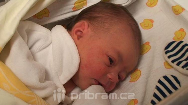 Prvním příbramským miminkem je děvčátko jménem Marianka