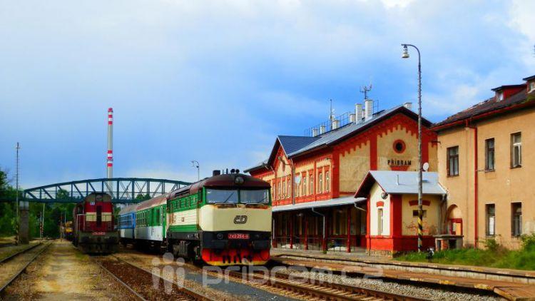 Po prázdninách bude v Příbrami den železnice