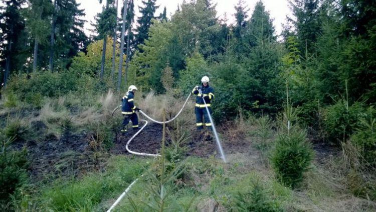 Požár chalupy v Nečíně na Příbramsku způsobil škodu 1,2 mil.Kč