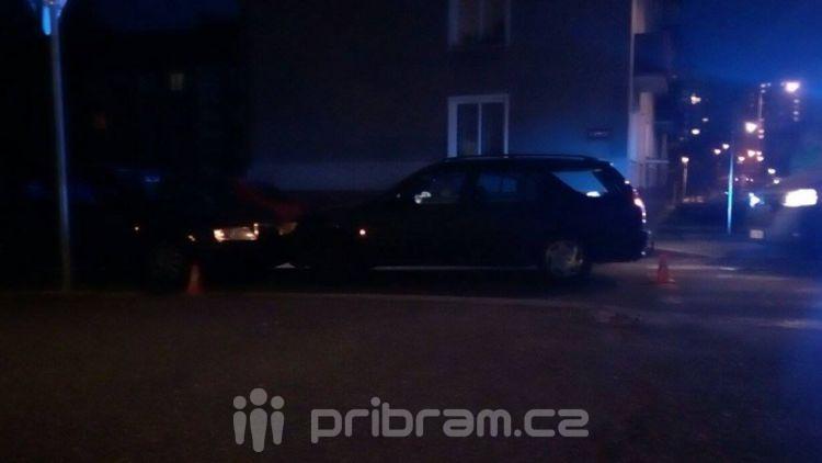 V ulici S. K. Neumanna se srazila dvě auta