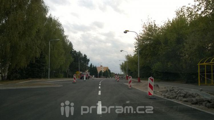 Školní ulice je od včerejšího podvečera otevřená