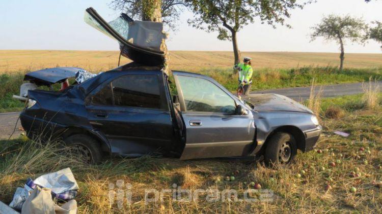 Nehodovost na Příbramsku roste, jedna zářijová nehoda skončila tragicky