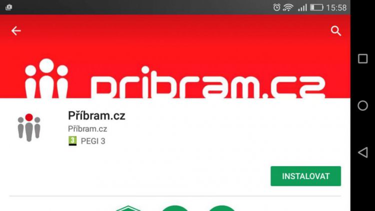 Máme pro vás první dárek: Pribram.cz i na Androidu