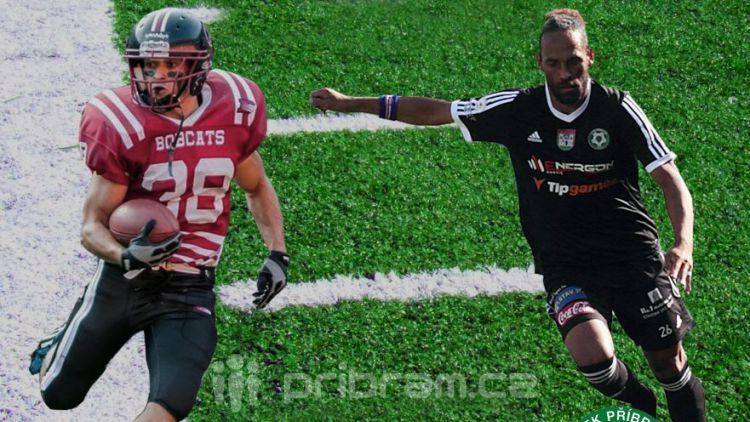 Fotbalisté a hráči Bobcats změří v neděli své síly
