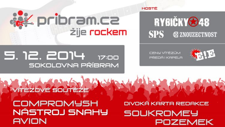 Pribram.cz žije rockem a bude to nářez