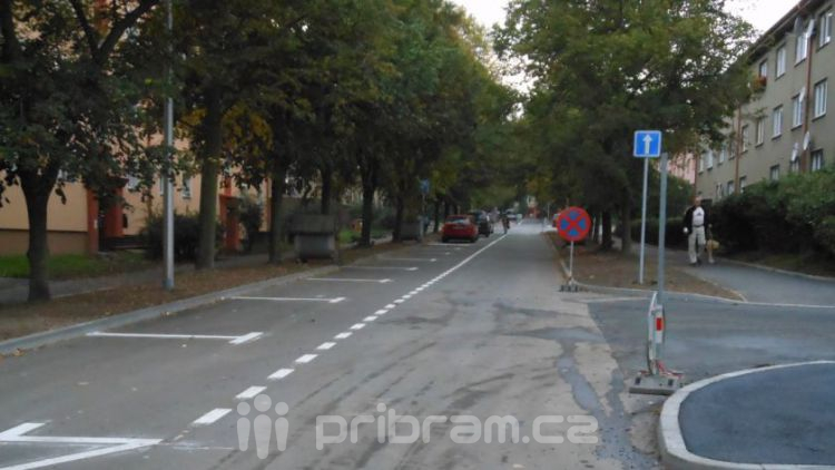 Ulice 28. října: Nalajnováno a hotovo