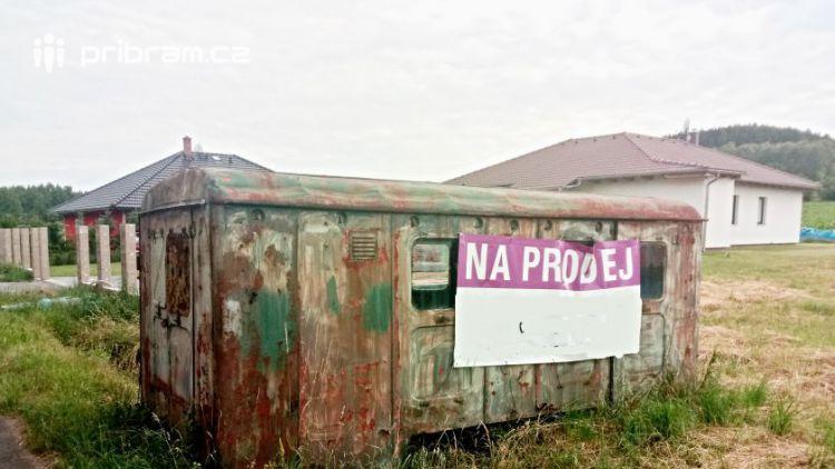 FOTO DNE: Prodám maringotku Zn. bez podvozku a STK