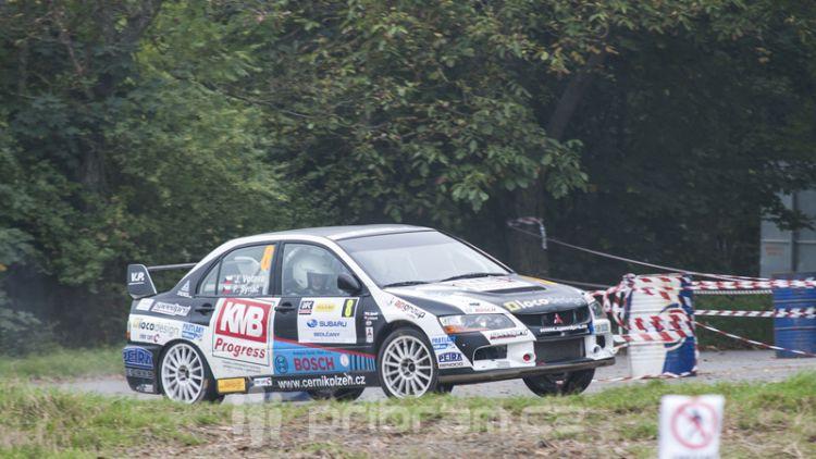 Vítězem letošní Rally Příbram se stal Václav Pech