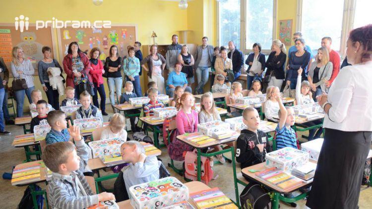 Příbramské základní školy uvítaly 431 prvňáčků