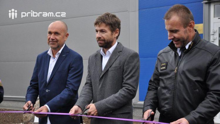 Ministr spravedlnosti Robert Pelikán slavnostně otevřel novou halu ve Věznici Příbram