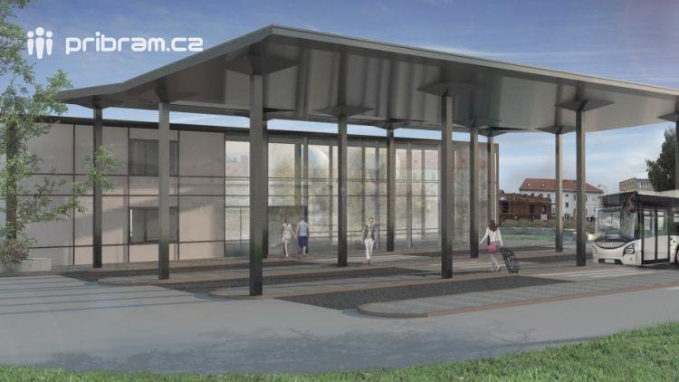 Sedlčany se chystají na modernizaci přestupního terminálu