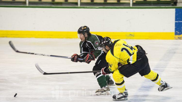Hokejisté Příbrami přehráli Velké Popovice a jsou třetí v tabulce