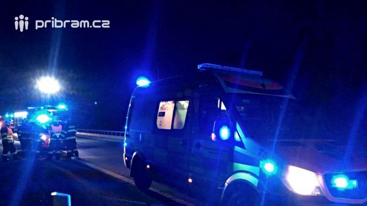 Právě teď: Veškeré jednotky IZS zasahují na úseku dálnice D4