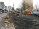 Rekonstrukce Plzeňské ulice již započala