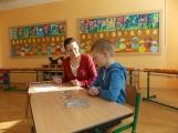 Budoucí školáci vyrazili k zápisu do prvních tříd