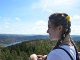 Vyhlídka z rozhledny na Veselém vrchu stojí za výlet