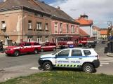 Právě teď: Hasiči likvidují požár pokoje v hotelu