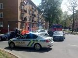 Aktuálně: V centru Příbrami se srazily dva vozy
