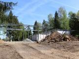 Stavba sezónního bistra na Nováku pokračuje podle plánu