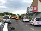 Aktuálně: Vážná dopravní nehoda uzavřela část dálnice D4