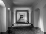 První umělecký happening na Svatohorských schodech