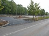 Parkoviště Drkolnov u Březohorského hřbitova má těsně před dokončením