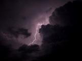 Noční průtrž mraků zalila Příbram opravdu vydatně