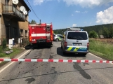 Právě teď: Došlo k tragické dopravní nehodě se smrtelnými následky, silnice v obci Čenkov je zcela uzavřena