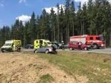 Aktuálně: Nehoda dvou vozů si vyžádala pět zraněných