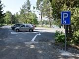 Nové parkoviště na Nováku je již vprovozu. Od 1.června za poplatek