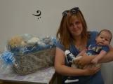 Nej miminko měsíce dubna dnes spolu se svou maminkou převzalo zaslouženou odměnu