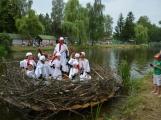 Čapí hnízdo sklidilo v Březnici jednoznačný úspěch