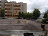 Parkoviště v Čechovské ulici už také získává tvar