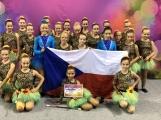 Děvčata z týmu Příbramských mažoretek se zúčastnila Mistrovství Evropy