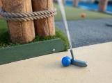 Brány zrekonstruovaného minigolfu, by se měly otevřít koncem prázdnin
