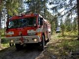 Kuřáci nebo opékání buřtíků?! Hasiči se včera potýkali se třemi požáry lesního porostu na Příbramsku