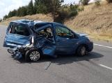 Aktuálně: Po havárii dvou vozidel se zastavil provoz na dálnici D4!