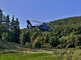 Úraz elektrickým proudem byl důvodem příletu vrtulníku záchranářů