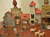Zloděj se připravoval na Vánoce, ochudil vystavený betlém o figurky