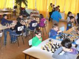 Školní družstva soutěžila v šachu