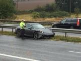 AKTUÁLNĚ: Nehoda blokuje levý jízdní pruh na D4